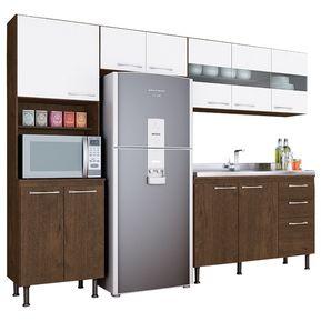 Kit Cocina Mueble 10 Puertas 3 Gavetas 5722 Lara 1d62ae134a20