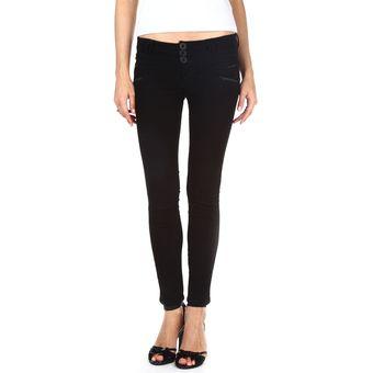 bfa0b3f1f0 Compra Usafrica - Pantalón Jean Mujer Satin - Negro online