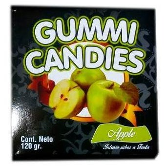 Sexy Ropa Interior Comestible Panty + Brasier Gummi Candies X 1u - Manzana 25c8fa858105