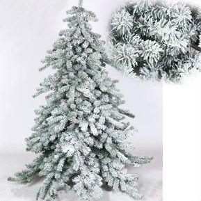bb846f06dc876 Arbol de navidad de nieve para navidad 2.10 m