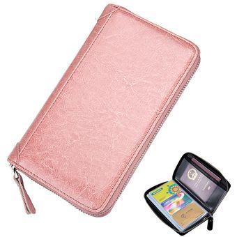 0b5e105e5 Compra Porta Pasaportes De Ecocuero Y RFID E-Thinker CL-5062 - Rosa ...