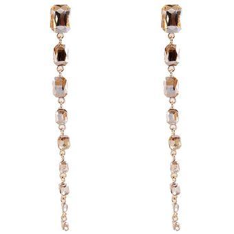eb49eb5352ac Compra EY Moda chicas joyas aretes estilo versátil-Golden online ...