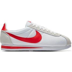 7e792305dd858 Zapatillas Running Hombre Nike Classic Cortez-Blanco Con Rojo