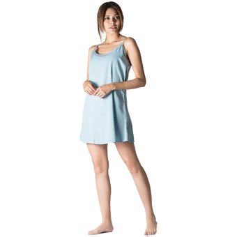 3b8de1fa1f Compra Pijama Vestido Mujer Noite Azul claro online