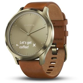 5bc9a82287a6c Reloj Híbrido Garmin Vivomove Hr Premium Gold