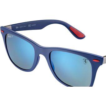 074c426ed079b Compra Lentes Solares Ray Ban RB4195M Blue Scuderia Ferrari ...