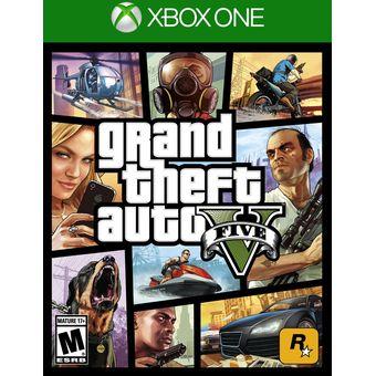 Compra Xbox One Juego Gta V Grand Theft Auto Online Linio Colombia