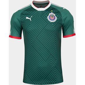 Jersey Puma De Chivas De Guadalajara De Visitante Verde 2017 c2839d62a394c