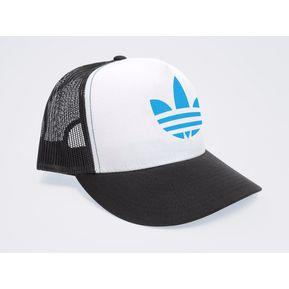 Gorra Negra Frente Blanco Personalizada Logo Adidas Azul 2c61b91067c
