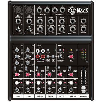 Consola Mezclador Audio Topp Pro MX10