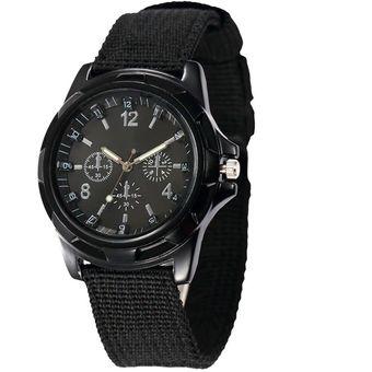 9e20d6184cc Reloj Analogo De Pulsera Tactico Militar Negro Hombre