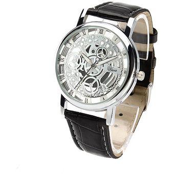 Mecánico Hombre De Esqueleto Pila Moda Caballero Reloj Onyv80mwN