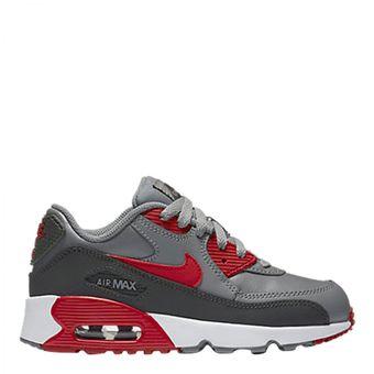 Nike Leather Zapatos Deportivos Max Niño 90 Air Compra Gris Online xTHntW67x