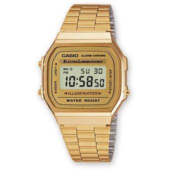 a40d0cf03a97 Compra Reloj Casio A168 A168WG-9EF -Dorado online