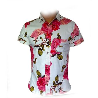 01fe99cb1 Compra Camisa Flores Hombre Lefties Moda Tendencia online | Linio ...