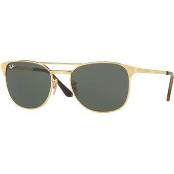 bb1aaeb8e7 Compra Gafas de Sol Ray Ban Square Shape para Hombre - Dorado online ...