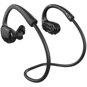 Audífonos Bluetooth Inalámbricos Estéreo Deportes Con El Micrófono – Negro