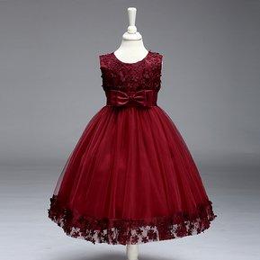 241f7b722e Nuevo vestido de princesa niña vestido de flor vestido de niño