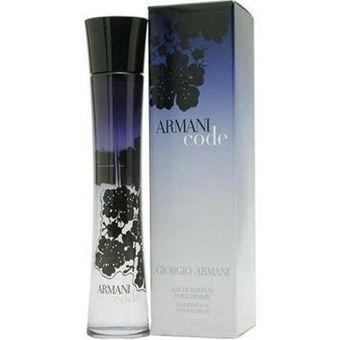 fe3bcf77a3298 Compra Armani Code Edp Dama 75 Ml Giorgio Armani online