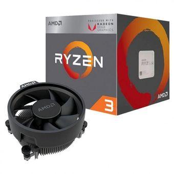 Micro Procesador Amd Am4 Ryzen 3 2200g 3.5ghz Gamer Rx Vega