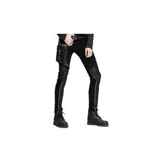 Steampunk Pantalones De Tejano Largo De Invierno Para Hombre Pantalones Goticos De Cintura Alta Pa Linio Chile Ge018fa0c8lo1lacl