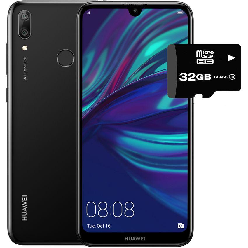 c131a6d6759 Creditienda - Celular Huawei Y7 2019 32GB 3GB Ram Dual Sim + Micro SD 32GB -