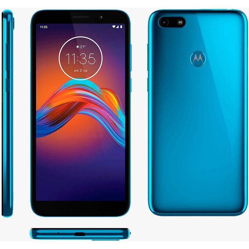Celular Motorola Moto E6 Play 32Gb 2Ram huella Azul