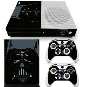 a6c330e946 Xbox One S Skin Estampa Pegatina - Star Wars Negro