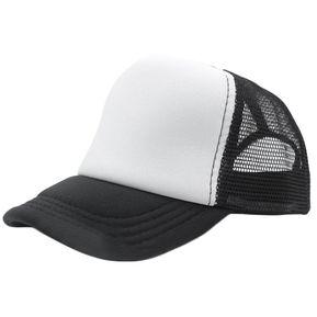 Verano Hombre Mujer Moda Trucker Cap Hat Béisbol Sombrilla Exterior De  Malla Blanco Y Negro ab04107008a