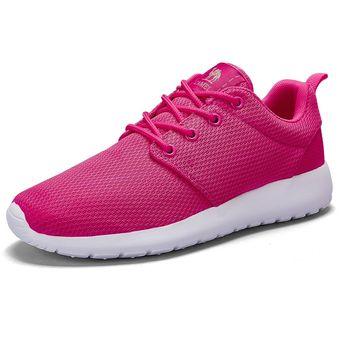 f0a8e82a1cb Zapatos Deportivos Transpirables Cómodos Correr Mujer CAMEL CROWN-Rosado