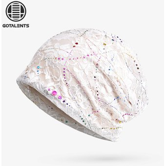 Compra Sombreros Para Unisex- Gorro Baotou Transpirable De-Blanco ... 82990637ea9