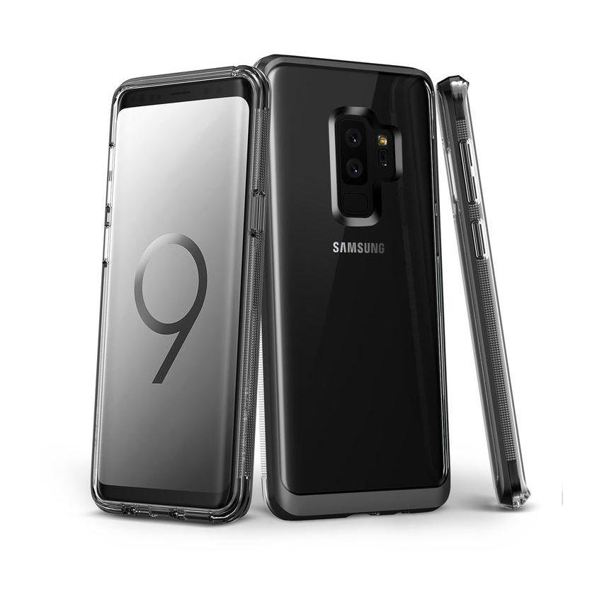 65537daabb0 Funda Galaxy S9 + Plus VRS DESIGN VERUS Crystal Bumper Gris