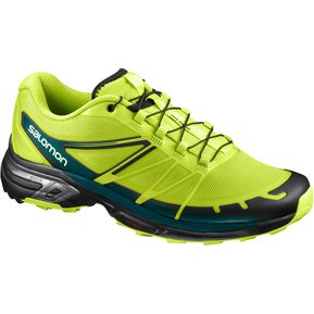 93eb6e7437bcd Tenis Hombre Trail Running Correr WINGS PRO 2 Verde