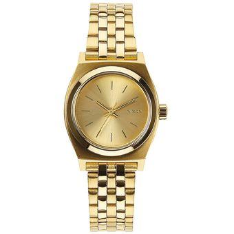 Reloj Small Time Teller All Gold Nixon