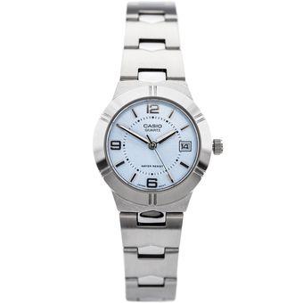 5fde7d7ef30f Compra Reloj Casio LTP-1241D-2A Plateado Para Dama Calendario ...