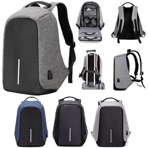 f3a03399687 Mochila Antirrobo Backpack Impermeable Usb Laptop Tablet