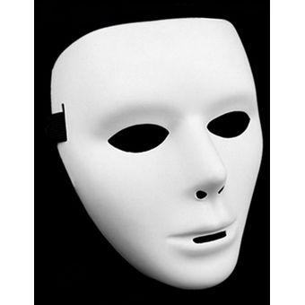 Cosplay Festival De Halloween Costume Danza Blancas Mascara Para