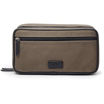 b320d9a5b115 Compra Fossil - Bolso Double Zip Olive Shave Kit MLG0362345 online ...