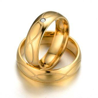 mejor servicio ca831 94841 Aros De Matrimonio. Hombre. JOYAS LUCYANA. Bañados En Oro Amarillo De 18K