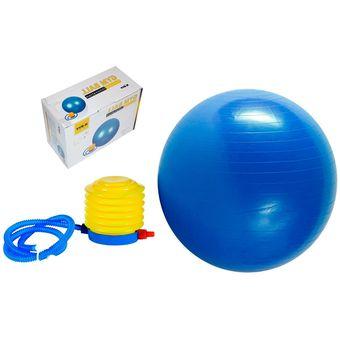 Compra Pelota Gimnasio Pilates Terapeutico 75cm Inflador Caja Azul ... 39d1e2b76628