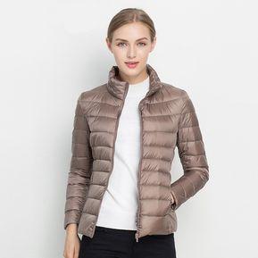 nuevo baratas el más nuevo estilos de moda Chamarras y abrigos de plumas mujer - compra online a los ...