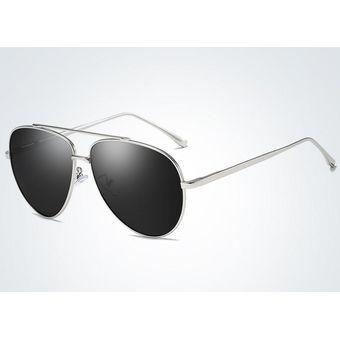 b71891dd71 Compra Hombres y mujeres gafas de sol polarizadas-Plata online ...