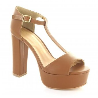 7105b7c5 Zapatilla para Mujer Emilio Bazan - Distribucion 3032-043775 Color Camel