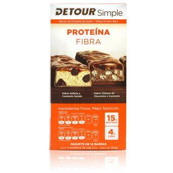 ed29e1e00 Compra Barras De Proteina DETOUR 14 Unidades 15g De Proteina online ...