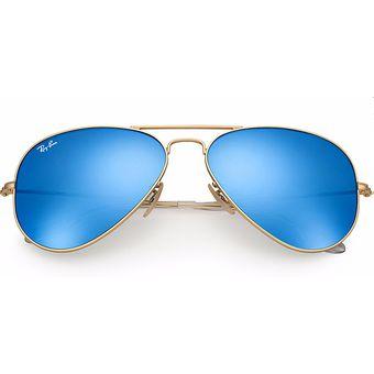 8678a5b89a Agotado Gafas De Sol Ray Ban Aviator Flash Lenses RB 3025 112/17 Dorado /  Azul