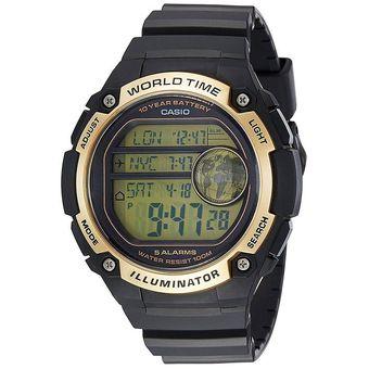 185d81503c6b Compra Reloj Casio AE-3000W-9A Digital Resina Negra Dorado Para ...