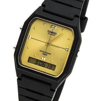 4b6bd9496af3 Compra Reloj Casio Aw-48he Digital Analogico -Negro Con Dorado ...