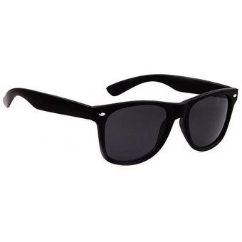 Agotado Lentes De Sol Gafas Tipo Wayfarer Para Hombre Mujer Vacaciones Negro c29007eca46