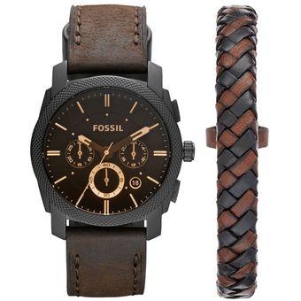 5e5af1cdf523 Compra Reloj Fossil Machine FS5251SET Para Caballero-Marrón online ...