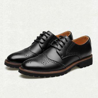 2f93bc086 Compra Zapatos Hombre De Vestir Con Tallado - Negro online